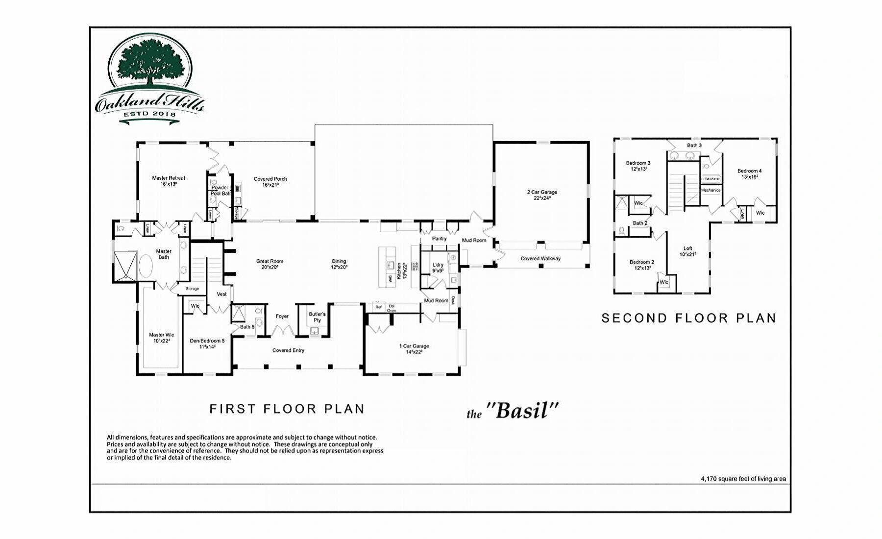 The Basil - Floor Plan