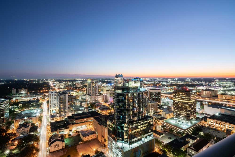 Downtown-Orlando-Skyline-Night